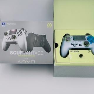 ① ほぼ新品 Scuf Vantage PS4対応 ゲームコント...