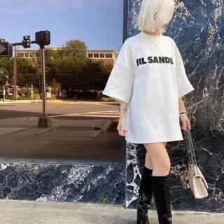 JIL SANDER ジルサンダー オーバーサイズ  Tシャツ ...