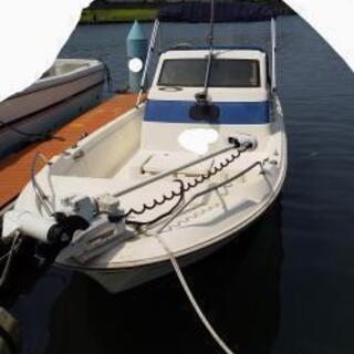 プレジャーボート ヤマハUF-20 4サイクル50馬力 ミ...