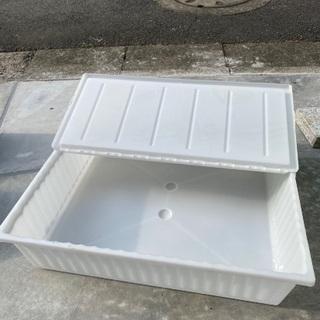 IKEA フタ付き収納ボックス 2個セット