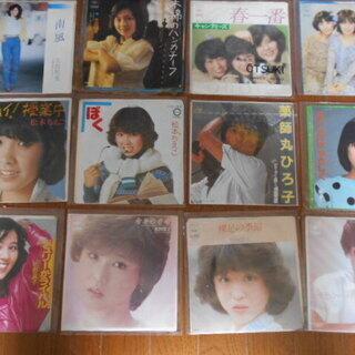 80年代~90年代 アイドル シングルレコード 41枚 太田裕美...
