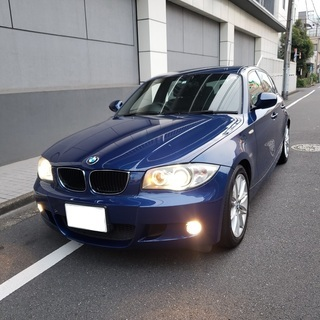 BMW116Mスポ H22後期モデル 車検3年1月 走行8700...