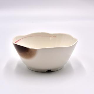 茶碗 楕円皿 二個セット 介護食器 強化磁器