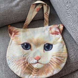【千円】あちゃちゅむ 猫 大きなバッグ