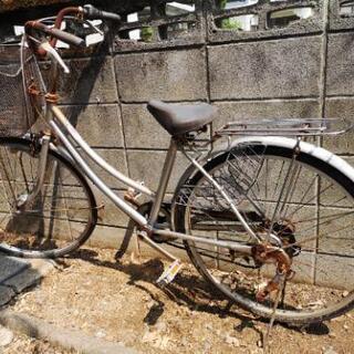 自転車 26インチ オートライト 外装6段変速