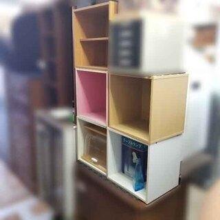 キューブボックス 1段 カラーボックス カラボ ※複数在庫 白・...
