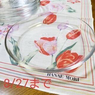ハナエモリ HANAE MORI ガラス皿