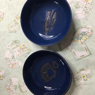 魚貝柄のお鉢(全4枚)