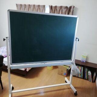 ホワイトボード(裏面は黒板)