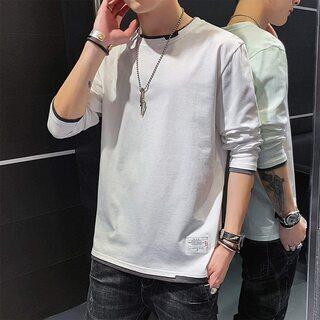 【新品・未使用】XXXL ビッグサイズ長袖Tシャツ・ホワイト