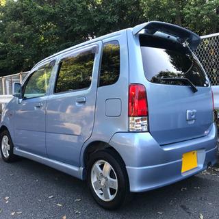 平成14年 ワゴンR FMエアロ MC22S ブルー 走行12.1万キロ 車検4年8月!! - スズキ