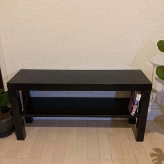 受付終了 [譲ります] テレビ台 木製 ブラック