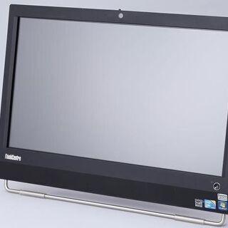 タッチパネル搭載中古Windows10HP・レノボ・23型液晶一...