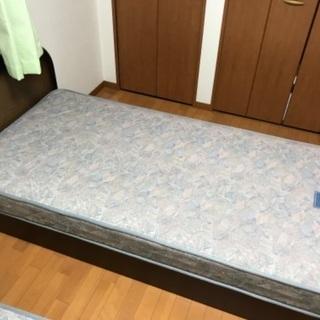 シングルベッド(フレーム+マットレス)