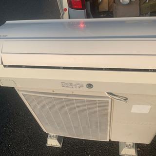 シャープ14畳エアコン 中古 工事可能