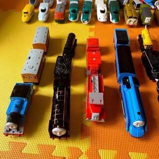 プラレール トーマス 新幹線 大量