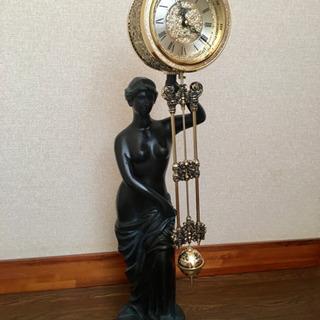 オブジェ 振り子 置き時計