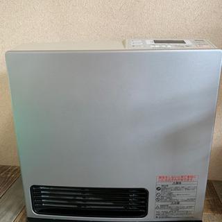 ガスファンヒーター ガスストーブ 暖房 ガスホース付きリン…