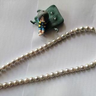 天然パールのネックレス (中古) 8.0-8.5
