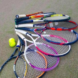 運動不足解消のテニス
