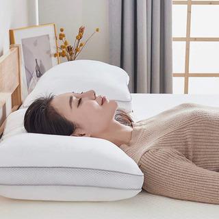 枕 いびき防止 横向き仰向け寝対応 洗える 高さ調節可