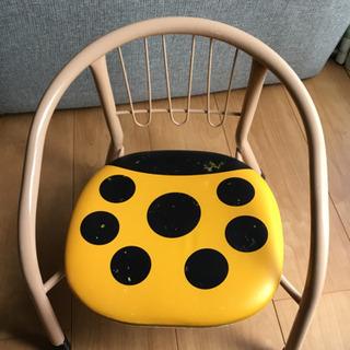 ミニ椅子 てんとう虫