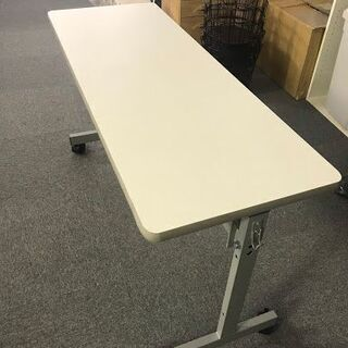 【1台限り】オフィステーブル(白色)