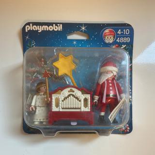 playmobil サンタとオルガン、天使のセット