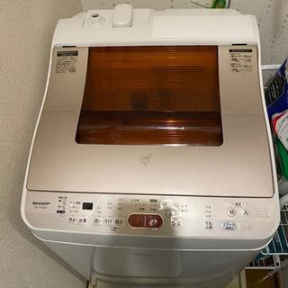 洗濯機 SHARP ES-TG55F 8/28まで出品