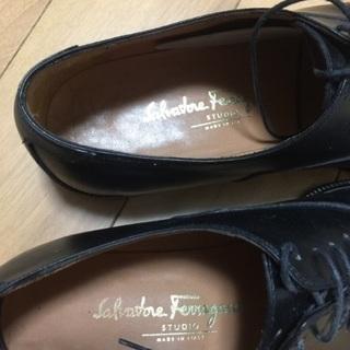 シューズ祭り!サルバトーレフェラガモ美品革靴 - 大田区