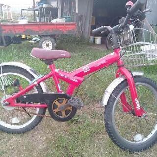 最終値下げ 子供用18インチ自転車