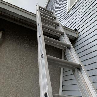 2段はしご 全長7m18cm