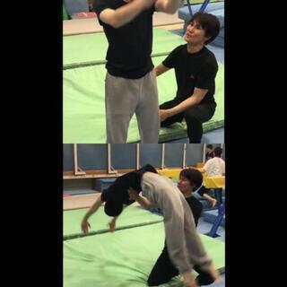 ■2時間でバク転(モテ技)を習得するプライベート体操教室  ■大...