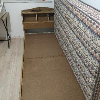 組立式シングルベッド