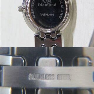 VS ダイヤモンド11P最高級タングステンレディース腕時計 VS-L001 − 北海道