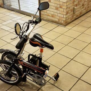 自転車+フル電動+アシストモード、優れた走行性能を実現! 折りた...