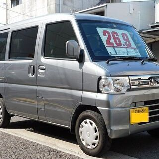 コミコミ『26.8万円』ミニキャブバン オートマ 24年式 ナビ...