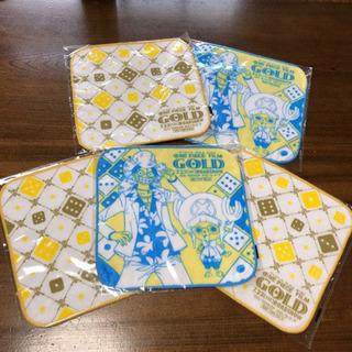 【1枚70円!!】ONE PIECE タオルハンカチ5枚セット①