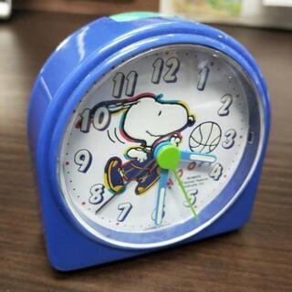 スヌーピーの目覚まし時計