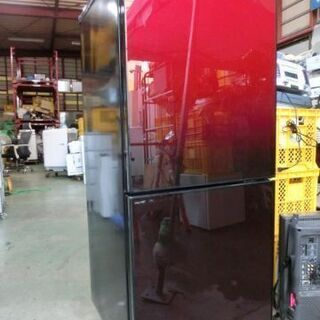 【ネット決済】B87 ガラスパネルドア ユーイング2ドア冷蔵庫 ...