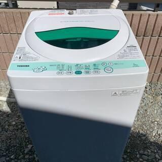 【取引中】全自動洗濯機 東芝 AW-505 洗濯 5kg 201...