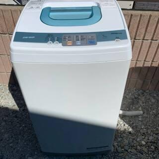 【取引中】全自動洗濯機 日立 NW-5KR 洗濯機 HITACH...