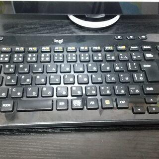【値下げ】Logcool ワイヤレスキーボード 使用期間 半年