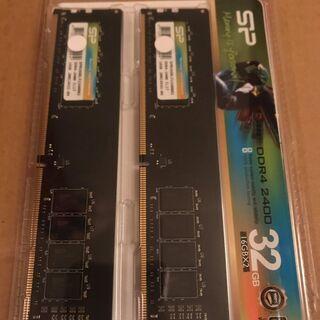 PCRAMモジュール二つと領収書、新品、32GB、ディスカウント