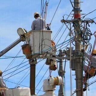 【週払い可】【電気工事の現場作業員募集】月収200,000…