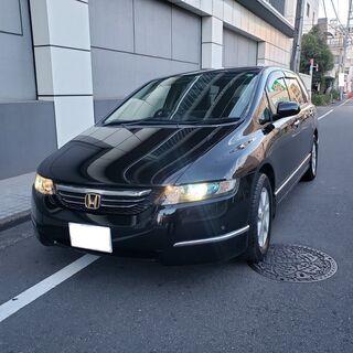 オデッセイM H18 車検3年2月 走行52000キロ 純正HD...