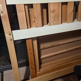 ロフトベッド 簡単な組み立て式 2セット 大人も寝られるサイズ - 宇部市
