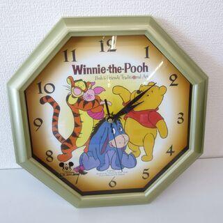 ■ディズニー くまのプーさん 壁掛け時計
