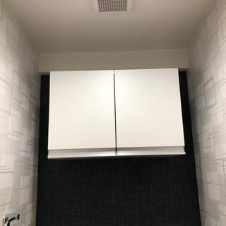 トイレ釣り戸棚 収納