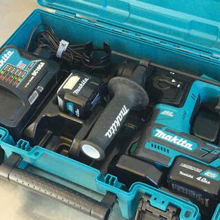 マキタ 充電式ハンマドリル◇16mm◇バッテリー4.0Ah×2個...